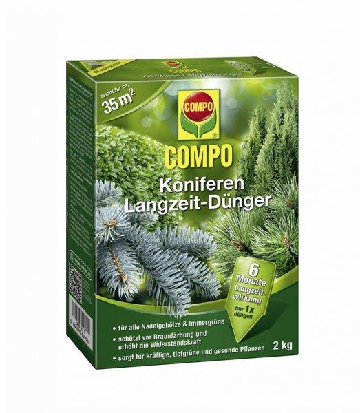 Compo Koniferen Langzeit-Dünger, 2 kg
