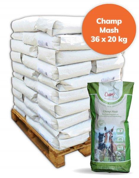 Palette Champ Mash für Pferde 720 kg, 36x 20 kg
