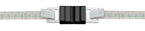 Ako Bandverbinder Litzclip, Edelstahl, 40 mm, 5 Stück