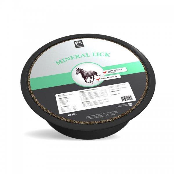 Equsana Mineral Lick Leckschale für Pferde, 10 kg