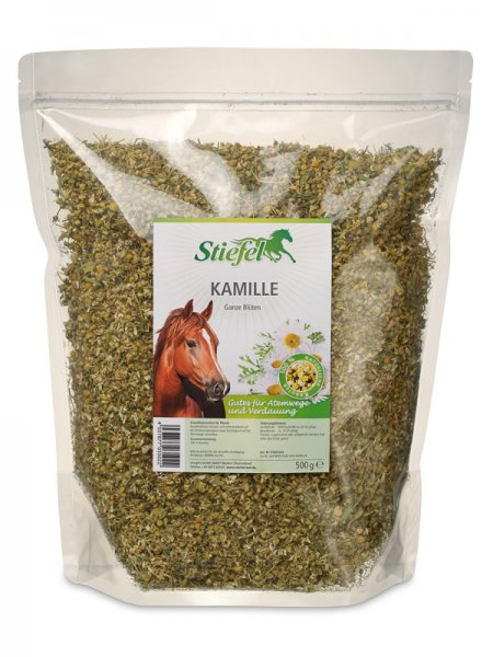Stiefel Kamille für Pferde, 500 g