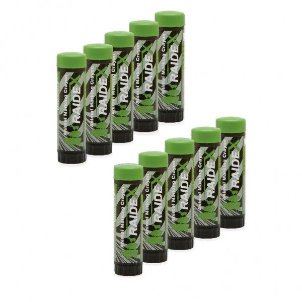 Kerbl Viehzeichenstift Raidl im Multipack, 10x grün