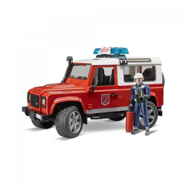 Bruder Land Rover Feuerwehr-Einsatzfahrzeug