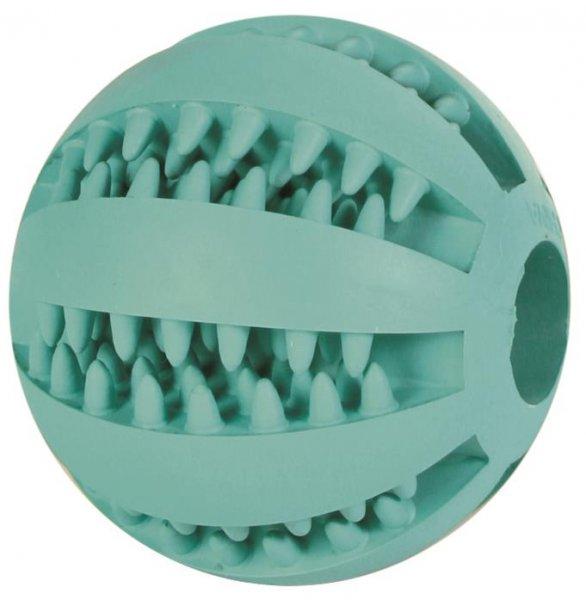 Trixie Denta Fun Baseball, Mintfresh, Naturgummi, 7 cm