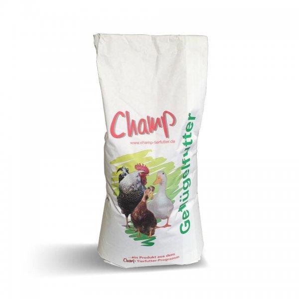 Champ Legehennen-Alleinfutter für Geflügel mehlform, GVO-frei, 25 kg