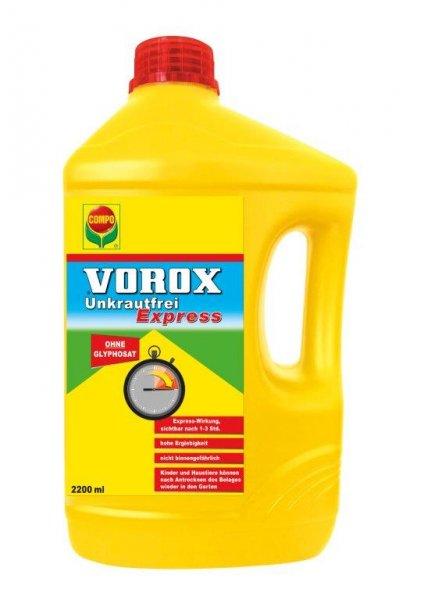 Compo Vorox Unkrautfrei Express, Glyphosatfrei, 2200 ml