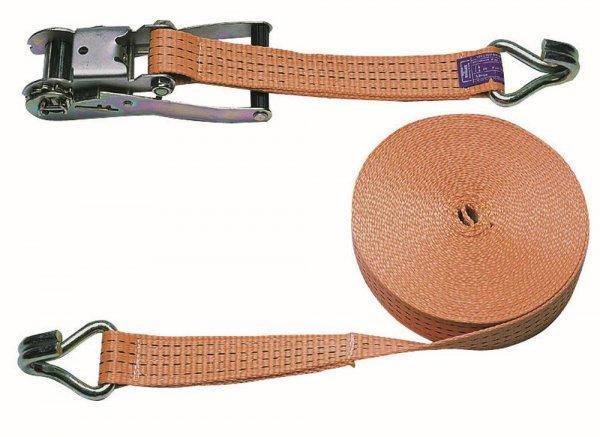 Kerbl Ratschenzurrgurt zweiteilig, 50 mm, 15 m