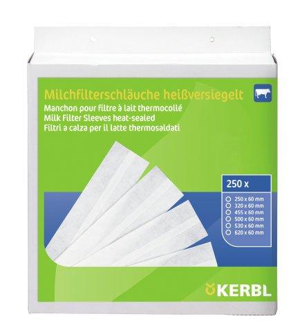Kerbl Milchfilterschlauch, 530 mm, 250 Stück