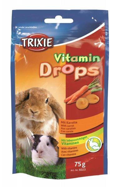Trixie Vitamin-Drops, Karotte, 75 g