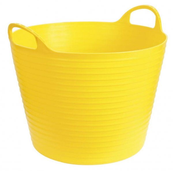 Kerbl Flexibler Trog FlexBag gelb, 28 l