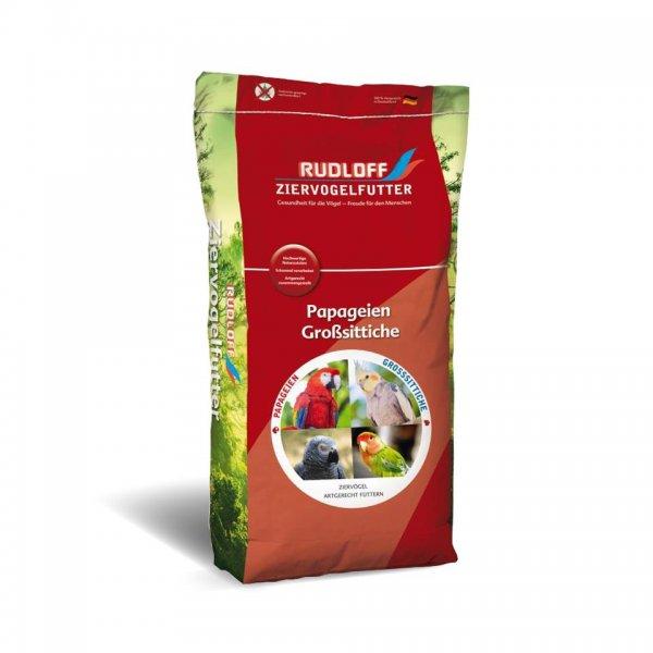 Rudloff Papageienfutter ohne Nüsse, 20 kg