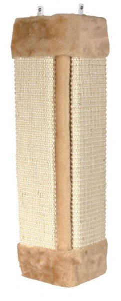 Trixie Kratzbrett für Zimmerecken, 23x 49 cm, beige