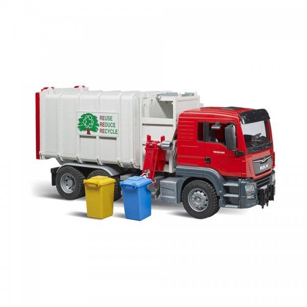 Bruder MAN TGS Seitenlader Müll-LKW