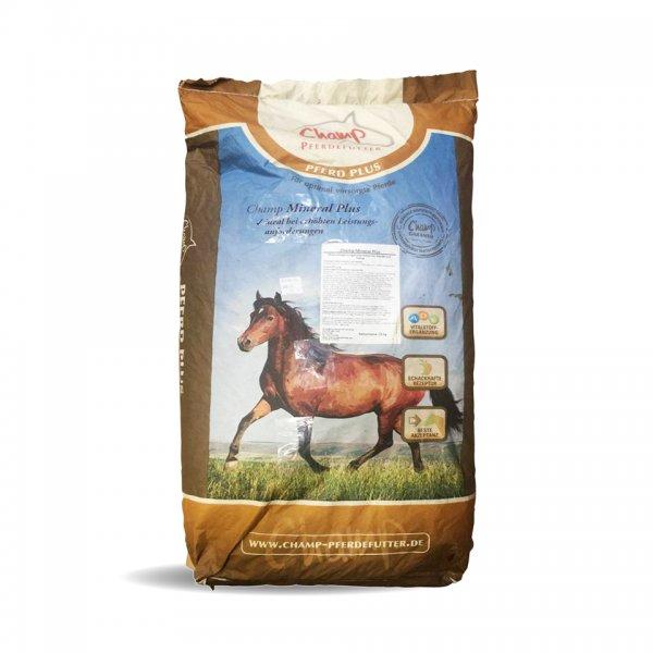Champ Mineral Plus für Pferde, 25 kg
