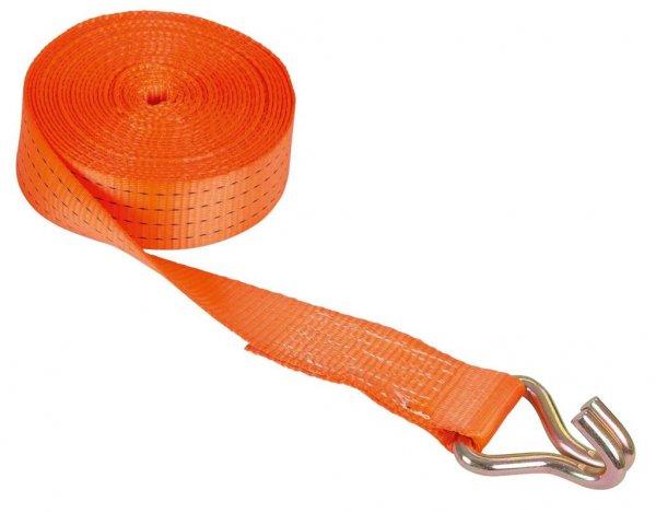 Kerbl Ratschenzurrgurt zweiteilig, orange, 50 mm, 10 m
