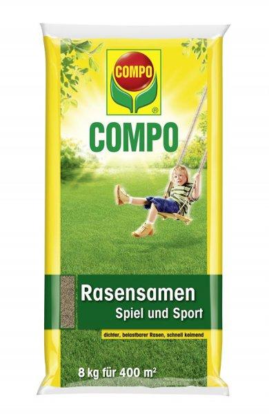 Compo Rasensamen Spiel und Sport, 8 kg