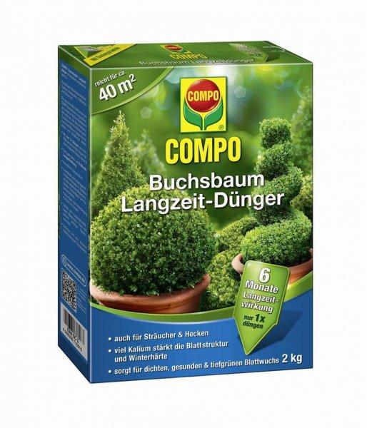 Compo Buchsbaum Langzeit-Dünger, 2 kg