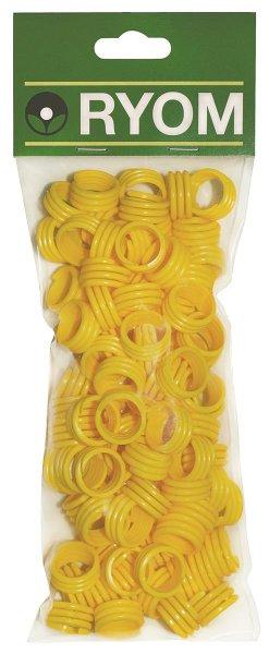 Ryom Spiralringe gelb 16 mm, 100 St.