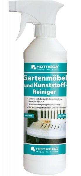 Hotrega Gartenmöbel und Kunststoff Reiniger, 500ml