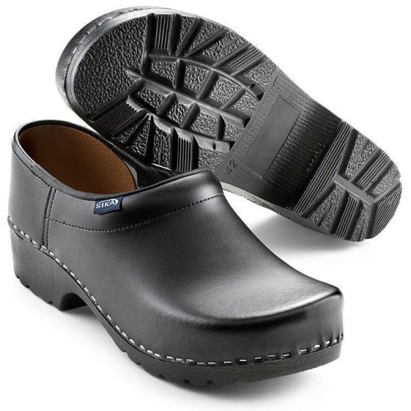 Sika Clog Traditionell 124 schwarz