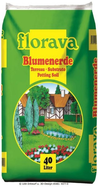 Florava Blumenerde, 40 l