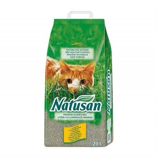 Natusan® Premium Klumpstreu, 20 ltr.