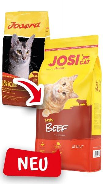 Josera JosiCat Tasty Beef, 10 kg
