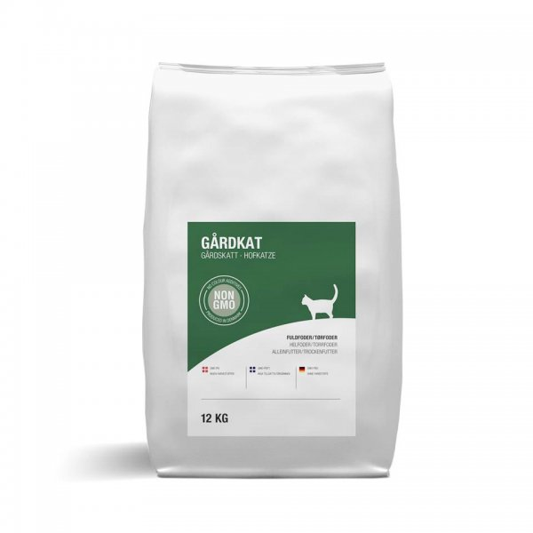 ScanFarm® Hofkatze Katzenfutter Trockenfutter, 12 Kg