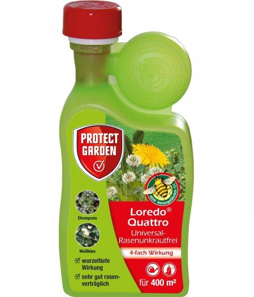 Protect Garden Loredo® Quattro Universal-Rasenunkrautfrei, 400 ml