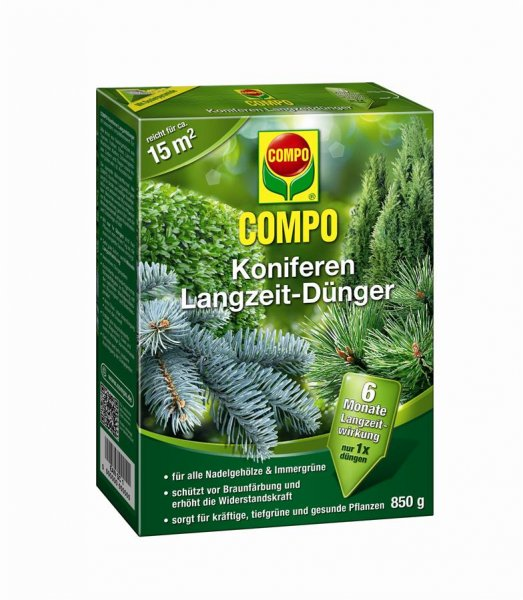 Compo Koniferen Langzeit-Dünger, 850 g