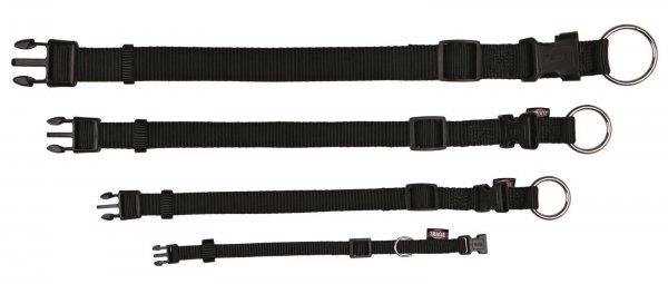 Trixie Premium Halsband, Größe S-M, 30-45 cm, 15 mm, schwarz