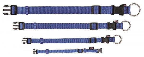 Trixie Premium Halsband, Größe XS-S, 22-35 cm, 10 mm, blau