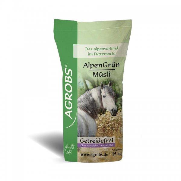 Agrobs AlpenGrün Müsli, 15 kg
