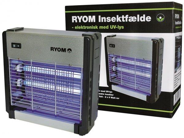 Ryom Elektrischer Insektenvernichter, 2x 6W, 75 m²