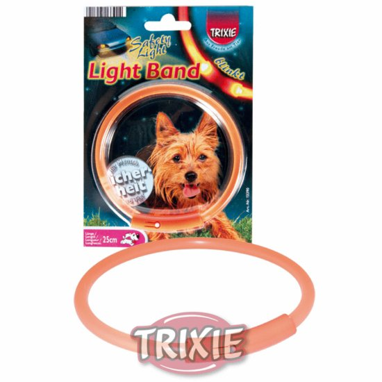 Trixie Light Band, Größe M, 42 cm, orange