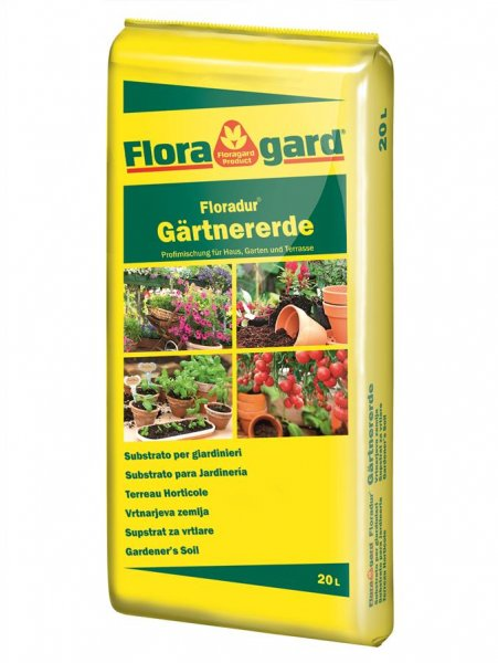 FloraGard Gärtnererde, 20l