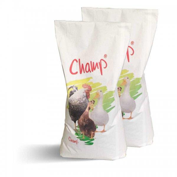 Champ Geflügelkörnerfutter Hühnerfutter GVO-frei im Doppelpack, 2x 15 kg