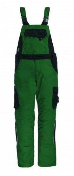 FHB Latzhose Eckhard, grün-schwarz