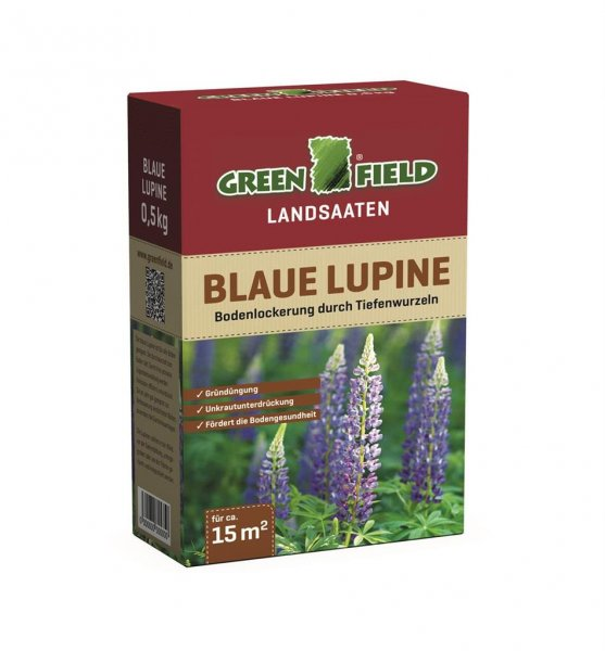 Greenfield Lupine blau, 500 g