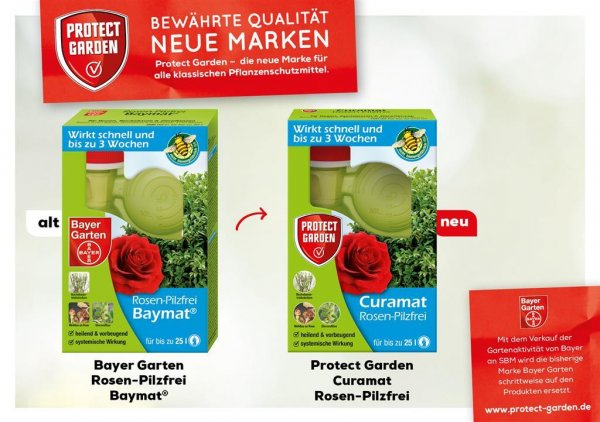 Protect Garden Curamat Rosen-Pilzfrei, 200 ml