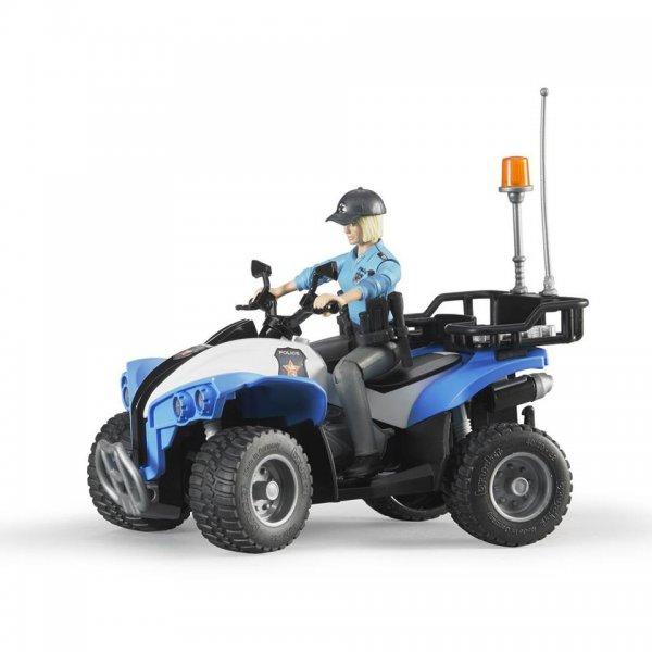 Bruder Polizei-Quad mit Polizist und Ausstattung