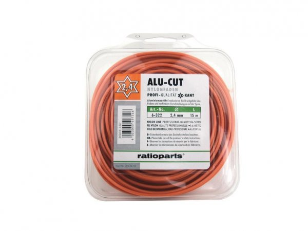 AluCutline 2,4 mm 6-Kant, 15 m