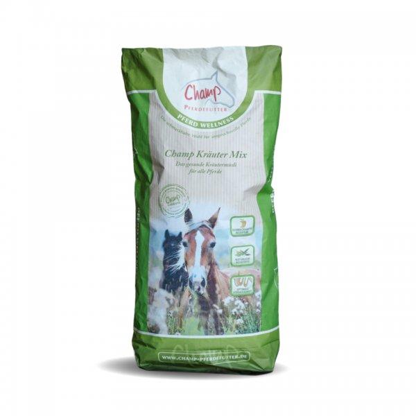 Champ Kräutermix für Pferde, ohne Hafer, 20 kg