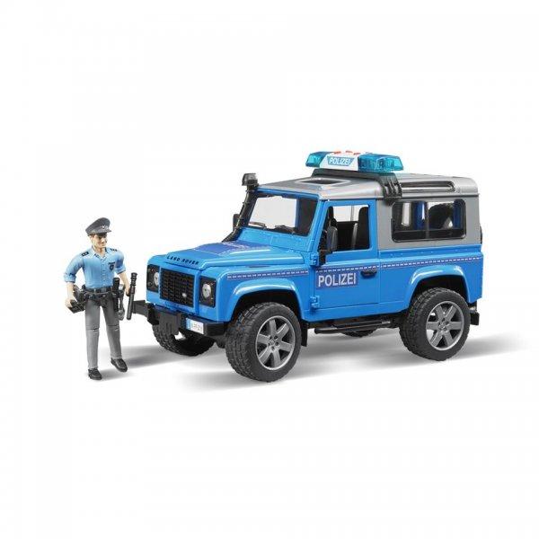 Bruder Land Rover Polizeifahrzeug Defender Station Wagon