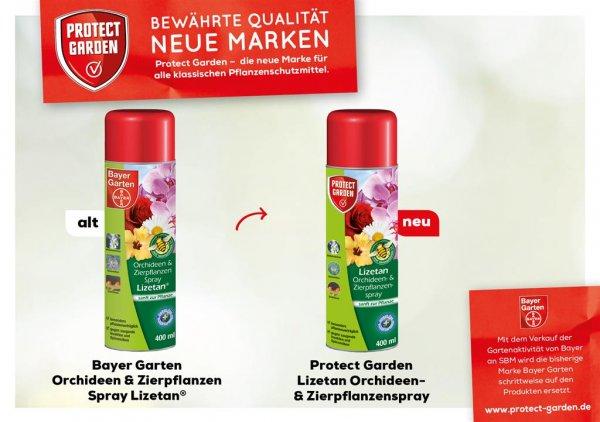Protect Garden Lizetan Orchideen- & Zierpflanzenspray, 400 ml