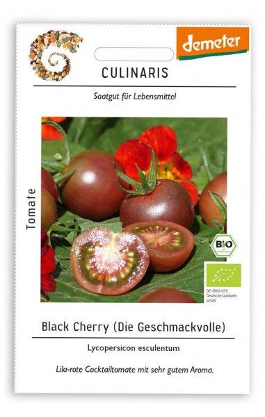 Culinaris Cocktailtomate Black Cherry, 20 Korn