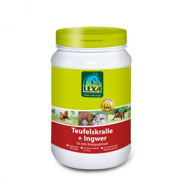 Lexa Teufelskralle + Ingwer pell., 3 kg