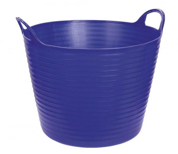 Kerbl Flexibler Trog FlexBag blau, 42 l
