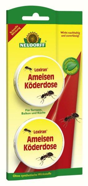 Neudorff Loxiran Ameisenköderdose, 2 St.