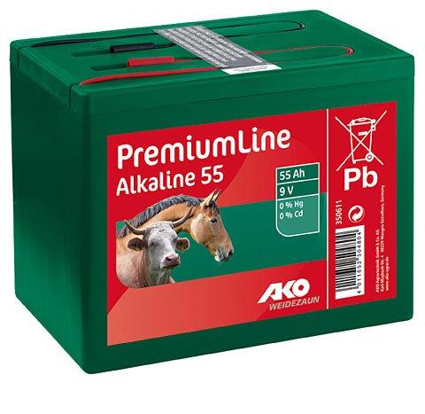 Kerbl Ako Batterie Alkaline 55 Ah, 9 V